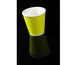 10cl Espresso Cup - White/Lime