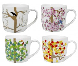 4-Seasons Mugs Set/4