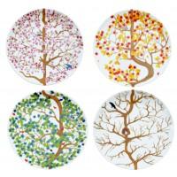 4 Seasons Plates Set/4