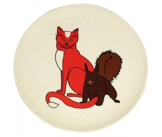 Hungry Cat Kids Plate