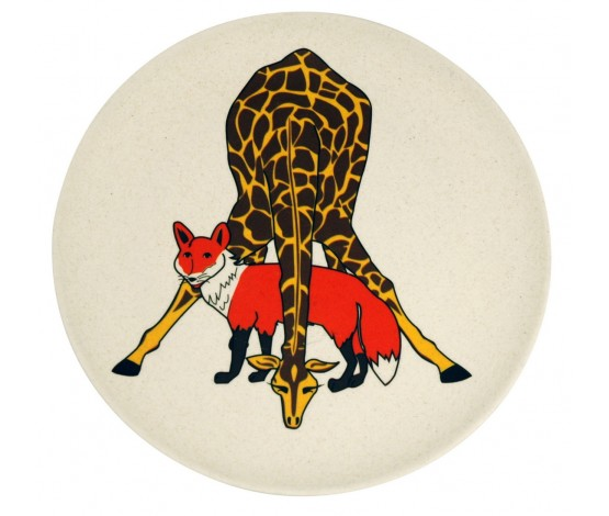 Hungry Giraffe Kids Plate