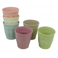 Cupful of Colour cups set/6 DAWN